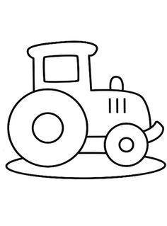 Tractors 260294053441146356 - Kleurplaat tractor Source by calierose Applique Templates, Applique Patterns, Applique Quilts, Quilt Patterns, Drawing Lessons For Kids, Easy Drawings For Kids, Art For Kids, Easy Coloring Pages, Coloring Sheets