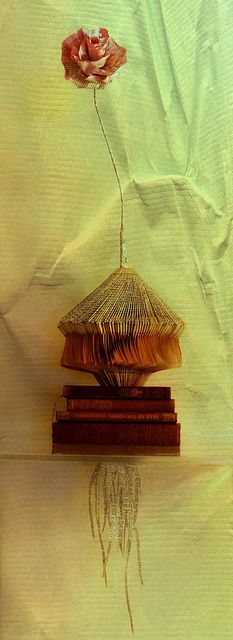 Book sculpture by Bronia Sawyer