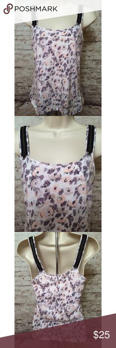 Silence & Noise Zipper Animal print Cami tank Really cute.  Perfect condition. Sz small.  Approximate Measurements lying flat:   Chest (armpit to armpit): 16 inches Length (shoulder to hem): 24 inches   Smoke free home. Urban Outfitters Tops Tank Tops