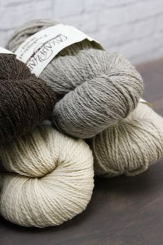 We can't get enough of Cascade Ecological Wool! The undyed, earthy colors of this 100% Peruvian wool knits and felts beautifully. And the yardage is great—a whopping 478 yards per skein, so it is a tremendous value. #knitting #crochet #yarn