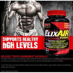 ElixAIR hGH 120 kapslí HGH zvyšovač rastového hormónu,testosterónu od SAN Nutrition na pristroje24.sk