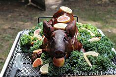 Second annual pig roast.