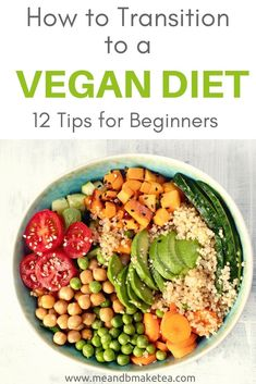 How to become vegan - tips and tricks for moving to a plant based diet or simply eating less meat! Find out how to make sure you're getting enough protein and B12 and what we did to ensure a healthy move to a vegan diet!  #vegan #plantbased #plantbaseddiet #health