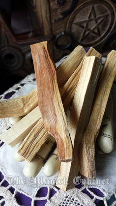 Palo Santo Sticks, 3 Sticks, Smudging, Holy Wood Incense, Pagan Incense, Natural Incense, Wood Incense, Pagan, Wicca Supply, Witch Wood