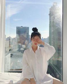 Korean Picture, Korean Girl Photo, Korean Girl Fashion, Cute Korean Girl, Ulzzang Fashion, Asian Girl, Korean Photography, Girl Photography, Kpop Fashion Outfits