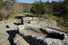 Necrópolis altomedievales #Pinares #Burgos #Soria #Spain