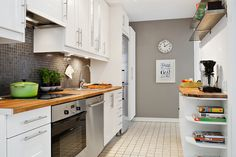 nice and small kitchen