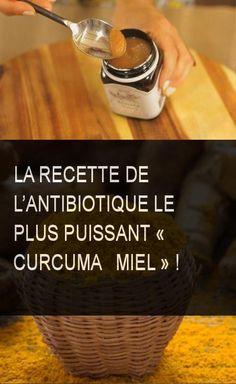 La recette de l'antibiotique le plus puissant « curcuma + miel » ! #curcuma #miel #recette #bio #antibiotique Sante Bio, Healthy Nutrition, Allergies, Detox, Medicine, Cancer, Health Fitness, Personal Care, Homemade