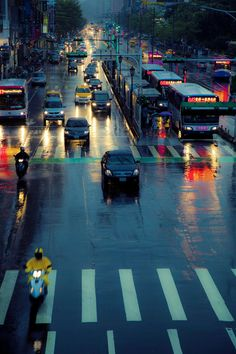 Photograph Another Rainy Day by Hanson Mao on City Landscape, Urban Landscape, Nocturne, City Rain, Rainy City, Rain Storm, Walking In The Rain, City Streets, Rainy Days