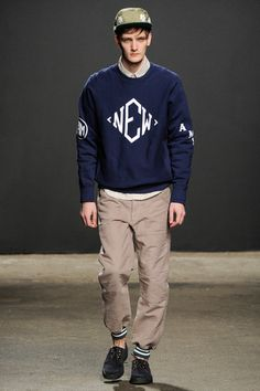 Mark McNairy New Amsterdam Fall 2014 Menswear Collection Slideshow on Style.com