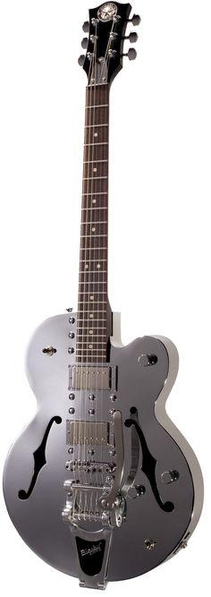 Normandy Chrome Archtop ATGWB-CH Vintage Bigsby Vibrato tailpiece | Aluminium Body constructed of aircraft-grade material