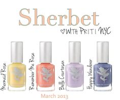 Priti NYC Sherbet Collection March 2013