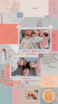 Korea Wallpaper, Kids Wallpaper, Fandom, Instagram Frame, Frame Template, Kpop, Good Thoughts, Do Anything, The Unit