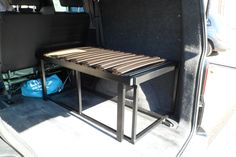 VW T5 Combi Kombi Rear side sliding bed seat in Vehicle Parts & Accessories, Motorhome Parts & Accessories, Campervan & Motorhome Parts   eBay