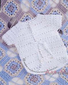 PATRONES GRATIS DE CROCHET: Patrón gratis a crochet de un entero o pelele de…