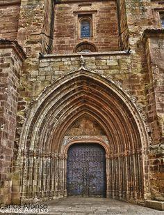 Colegiata de Mora de Rubielos, Teruel,Aragón (España)  Carlos Alonso, vía Flickr