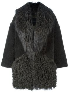 Shop Blancha panelled coat in D'Aniello from the world's best independent boutiques at farfetch.com. Shop 400 boutiques at one address.