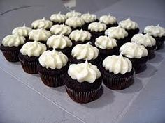 Cream cheese cupcakes.