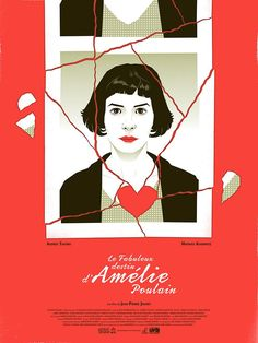 Las ilustraciones cinematográficas de Guillaume Morellec #Amelie