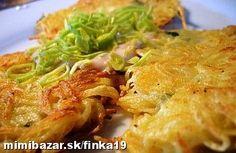 ♥ HARUĽA zemiakové placky recept po prababičke ♥