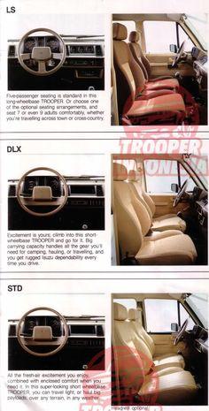 PlanetIsuzoo.com (Isuzu SUV Club) • View topic - What Goes Here (Dashboard)?