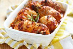 Taste Buds, Tandoori Chicken, Chicken Wings, Shrimp, Chicken Recipes, Main Dishes, Bacon, Meat, Dinner