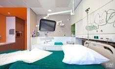 patient room, color, wayfinding