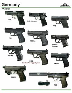 Германия: Walther P88, PPS, P99 Find our speedloader now! http://www.amazon.com/shops/raeind, P990, PK380, P22