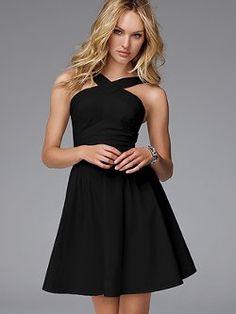 Little black dress :) - thrift inspiration