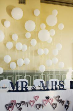 Balloon Decorating Ideas That'll Take Your Wedding to New Heights: If there's one easy way to add some whimsy and color to your wedding, it's with balloons.