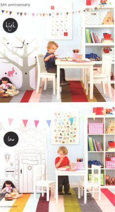 colourful fun kids playroom