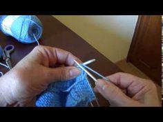 Macacão em tricô para bebê Parte 3
