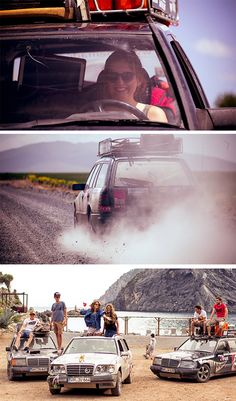 """Six friends, three Mercedes-Benz W 124 models and a big adventure: the members of """"The Madcaps"""" on a roadtrip from the Allgäu in Germany into the Orient."""