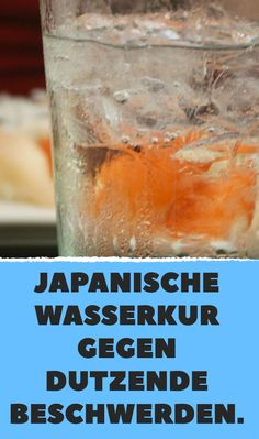 Japanische Wasserkur gegen dutzende Beschwerden.