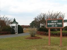 Sunset Memorial Park  Smithfield  Johnston County  North Carolina  USA