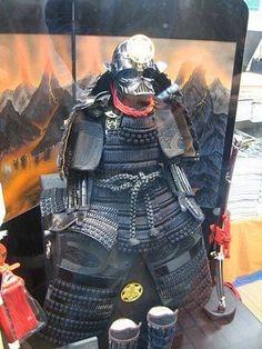 darth samurai... - (vader)(star wars)(armour)(japan)