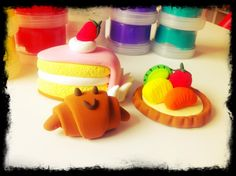 The JumpingClay Bakery Set!! mmm mmmm mmmm what's your favourite chocolate?