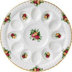 deviled egg plates antique - Google Search