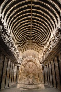 The Ajanta and Ellora Caves that speaks volume of the rich culture of India was surprisingly discovered only in the 19th century during an excavation by the British army, that too by accident!