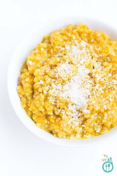 Quinoa risotto with roasted butternut squash and garnished with freshly grated parmesan. Butternut Squash Risotto, Roasted Butternut, Quinoa Squash, Vegan Recipes, Cooking Recipes, Vegan Menu, Fun Recipes, Italian Recipes, Recipies
