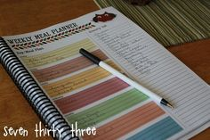 LOVE this meal planner!  And it's a free download!