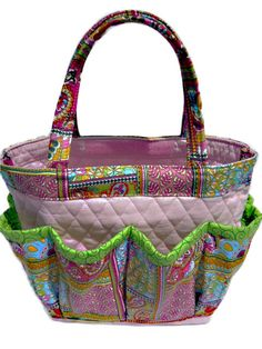 60eecc97bd84 Paisley Quilt bingo bag great for craft and make-up organizer from  SewTrendy Rose Lunch