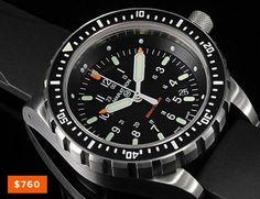 Marathon Jumbo Search and Rescue (JSAR). Swiss high-torque ETA quartz movement. $760