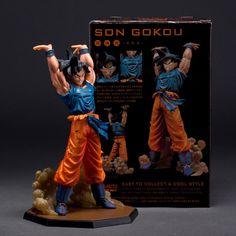 Japan Anime Dragon Ball Z Super Saiyan Son Goku Model Figure DBZ Collectible Toy