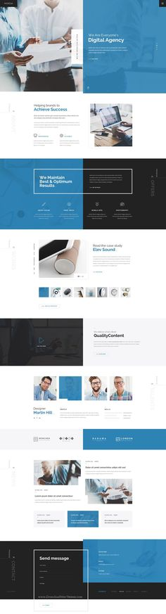 MORESA is a Modern, Clean, Responsive & Multipurpose PSD Template for your next #website. This #PSDtemplate is designed for any type of Business Companies, Digital Agencies, Startups or Portfolio Websites / Freelancers etc.