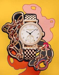 Stills & Strokes creates flashy jewellery editorials for Interview Germany.