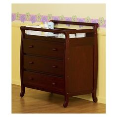 South Shore Cotton Candy 3 Drawer Changing Table | Baby | Pinterest | Babies