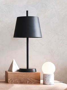 Milas 1 Light Table Lamp in Black | Table Lamps | Lamps | Lighting