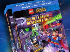 GIVEAWAY: ENTER to WIN a $25 LEGO DC Comics Super Heroes: #JusticeLeague vs. #BizarroLeague Movie DVD Combo Pack http://ow.ly/JrPpz - ENDS 3/3/2015