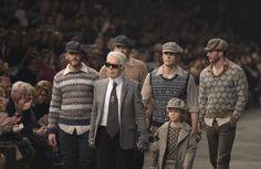 Chanel présente ses excuses à Mati Ventrillon, créateur de tricots de Fair Isle - WWD Chanel, Source Of Inspiration, French Fashion, Fashion News, Knitwear, Couple Photos, Knitting, Tweed, Design